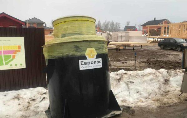 Монтаж сепитка Евролос БИО 5+ в Пушкинском районе
