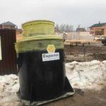 Монтаж септика Евролос БИО 5+ в Пушкинском районе
