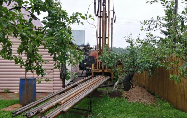 Бурение скважины в Домодедовском районе