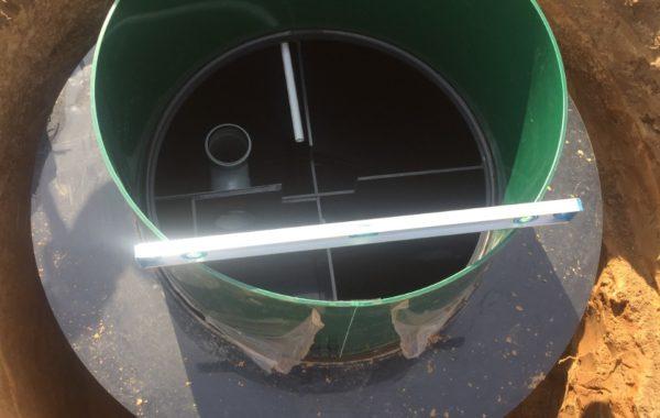 Монтаж септика Евролос БИО 3+ в Можайском районе