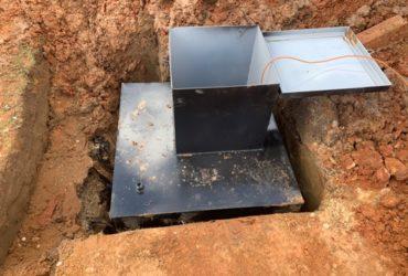 Кессон для канализации: назначение и установка